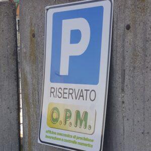 OPM - Parcheggio riservato, Recinzione